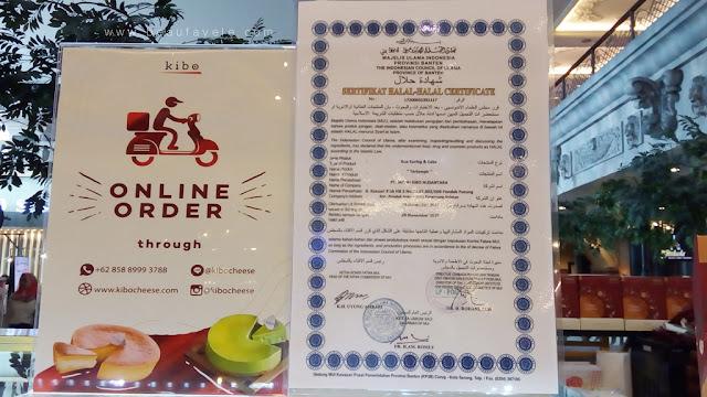 sertifikat halal dari MUI untuk KIBO Cheese