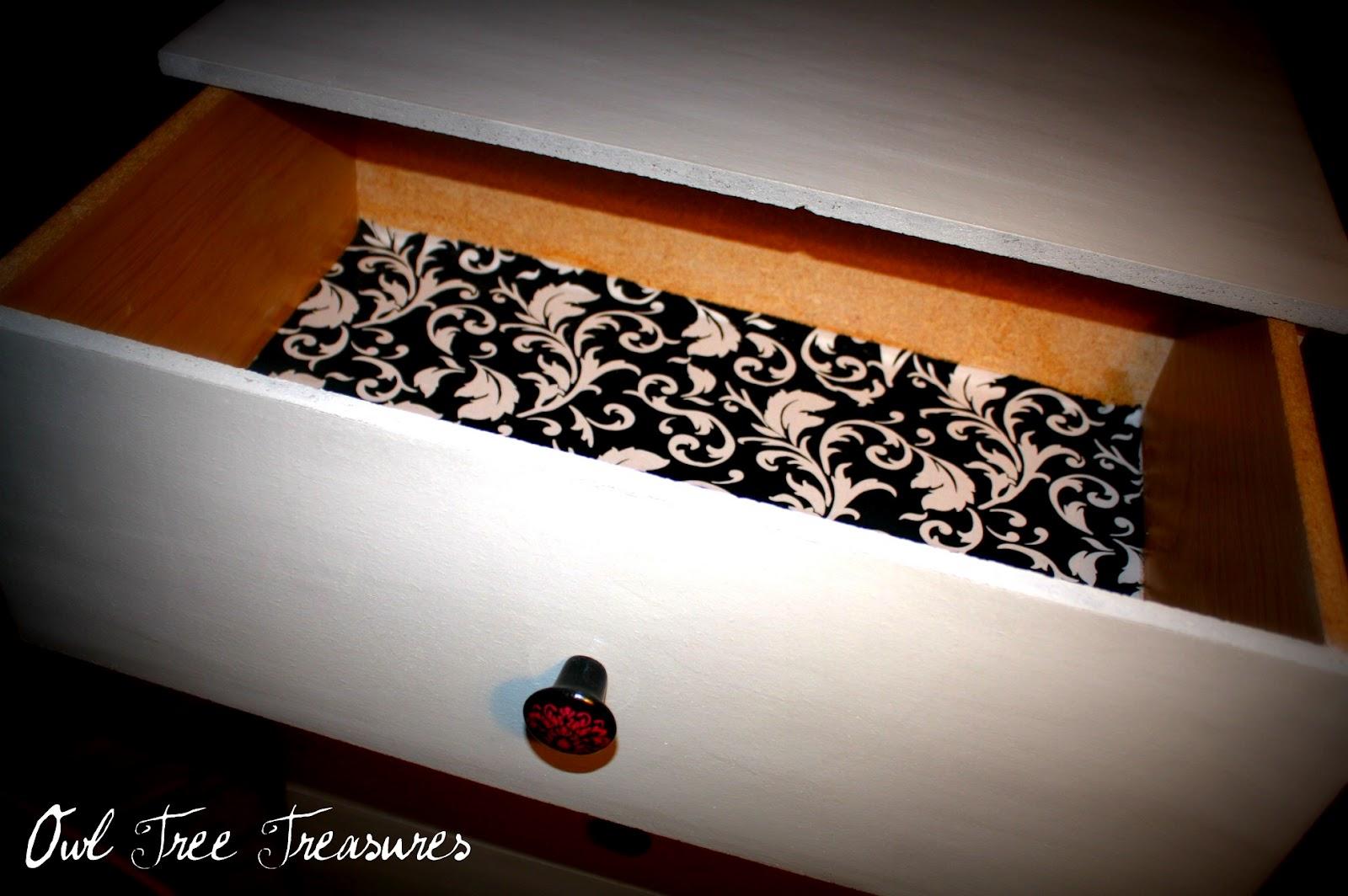 Owl Tree Treasures: Small White Dresser