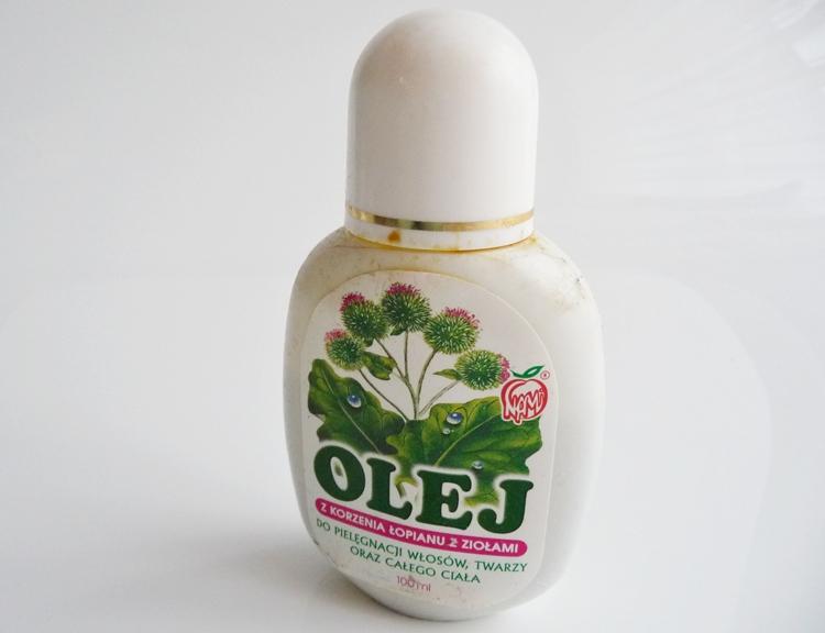 olej łopianowy NAMI