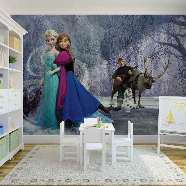 Valokuvatapetti Lapsia Disney Frozen
