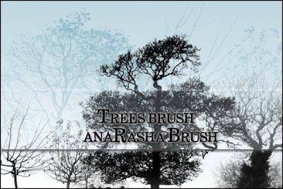pincel arbol photoshop