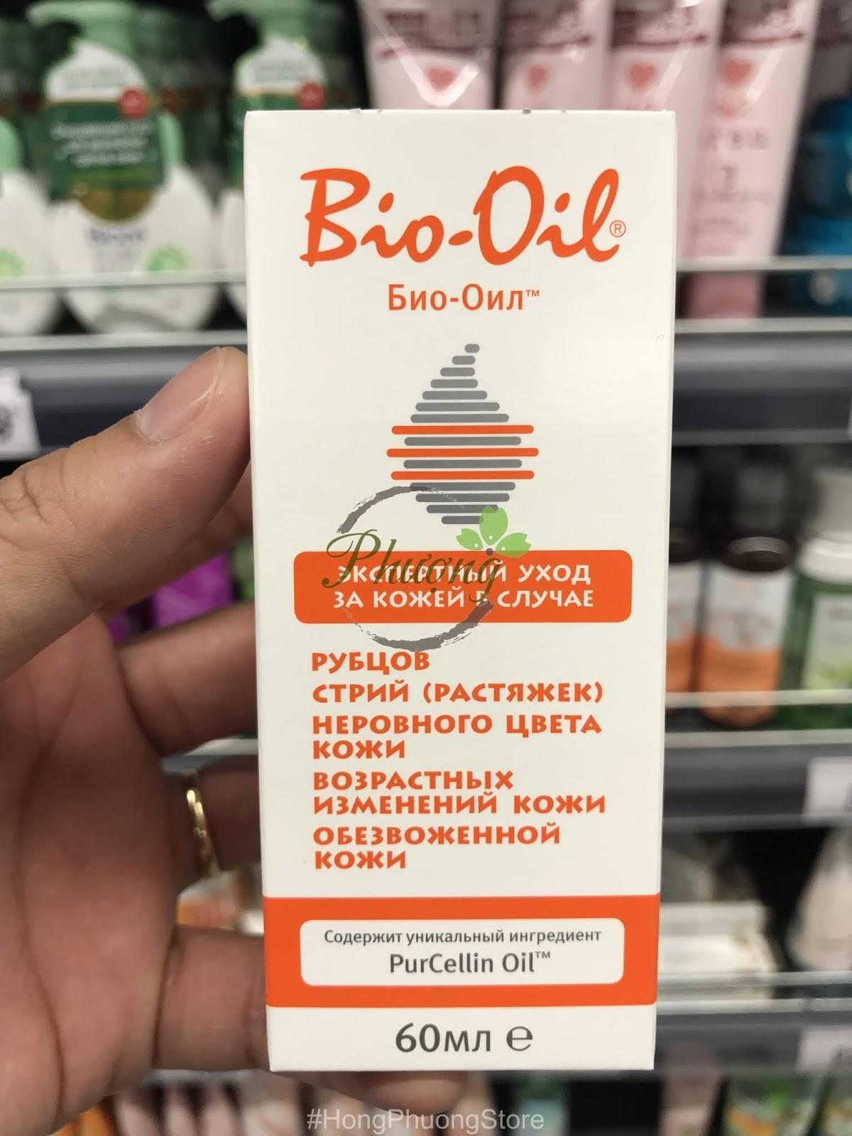 Tinh dầu Bio Oil 60ml giúp trị rạn da, làm mờ sẹo