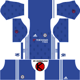Chelsea Kits 2016/2017 - Dream League Soccer 2016