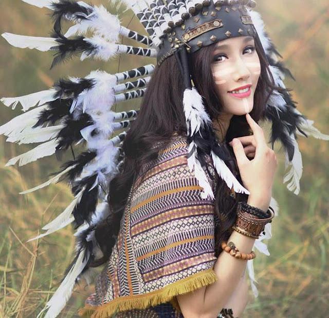 Beautiful Aboriginal Girl
