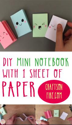 diy notebook,  diy crafts, diy projects, simple craft ideas, diy ideas, craft ideas for kids, simple craft ideas, projects for kids