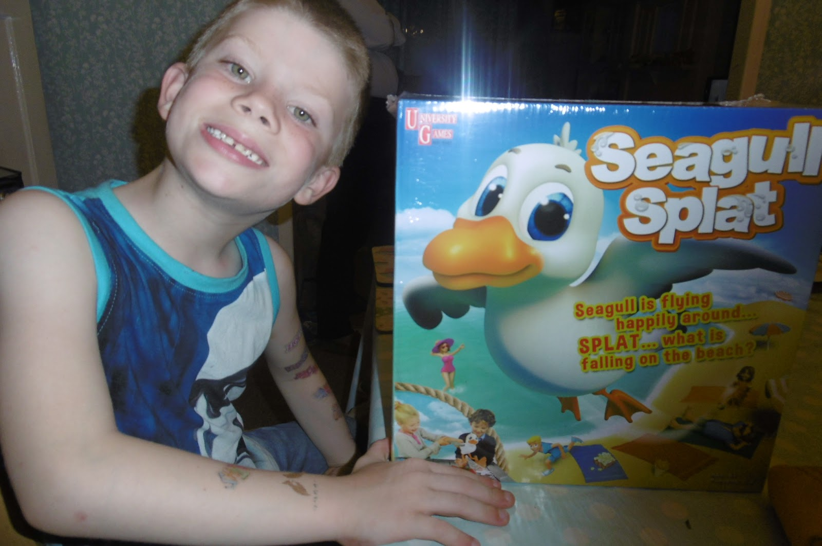 madhouse family reviews university games seagull splat review