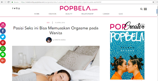 review popbela.com