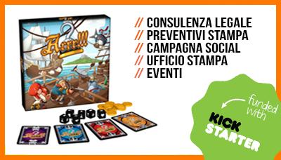 ARRR, gioco di carte pirati, kickstarter, Officina Meningi
