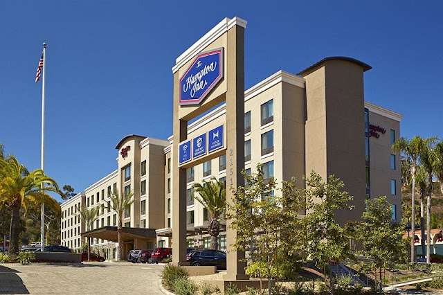 Hotel Hampton Inn San Diego Mission Valley em San Diego