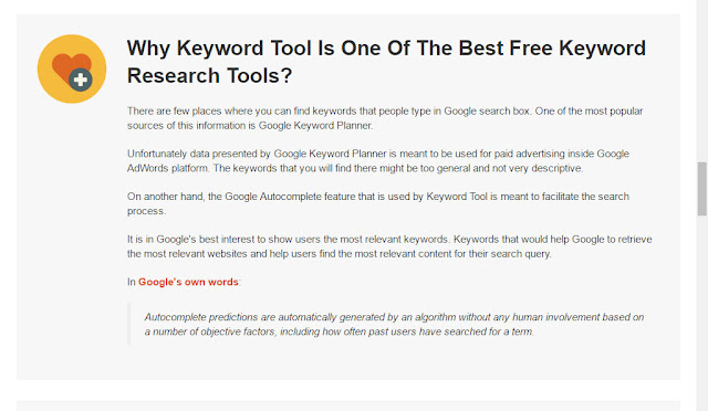 why keyword tool io is one of the best keyword research tools?