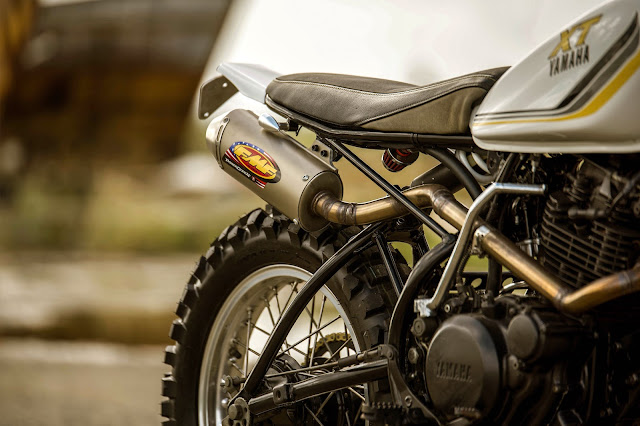 Yamaha XT250 By Purpose Built Moto Hell Kustom