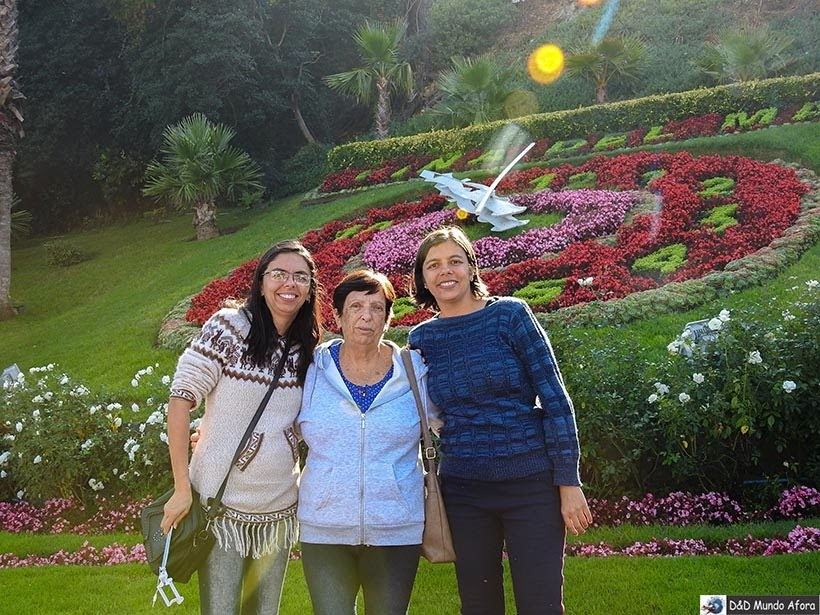 Relógio de Flores - O que fazer em Viña del Mar em um dia, Chile