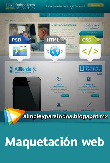 Video2Brain, Maquetacion Web