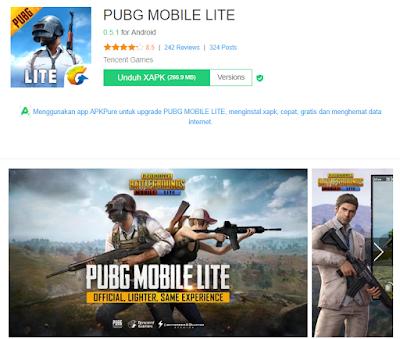 Cara Download PUBG Lite di Android Terbaru