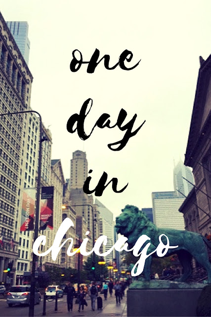 Some ideas on what to do with one day in Chicago