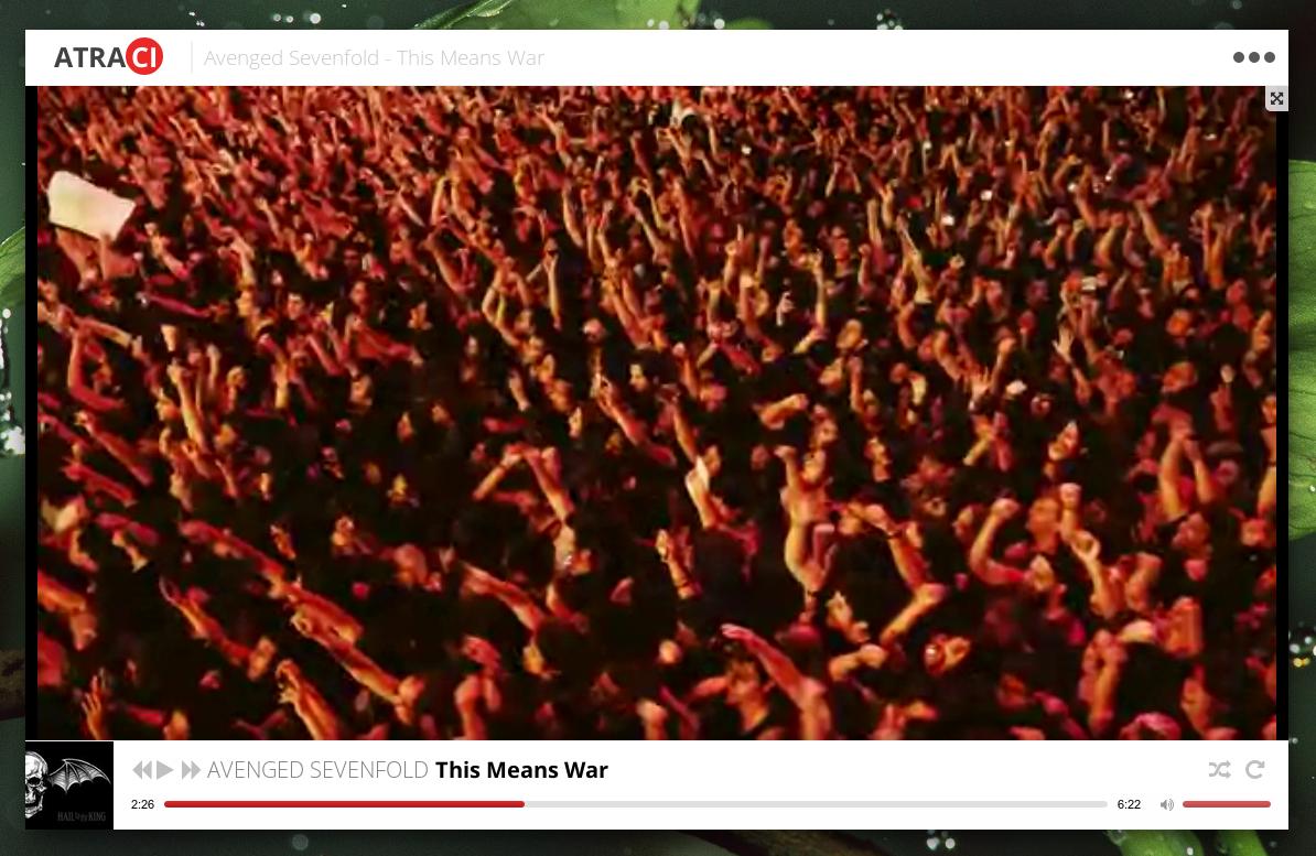 Atraci: New YouTube-Based Music Player ~ Web Upd8: Ubuntu / Linux blog