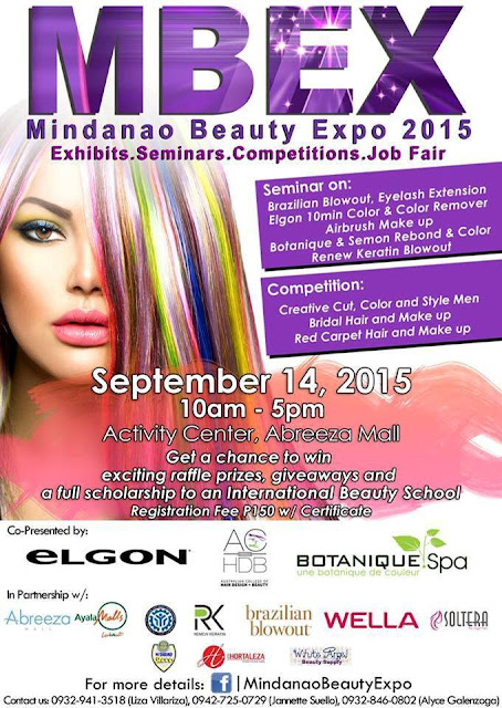 Mindanao Beauty Expo 2015