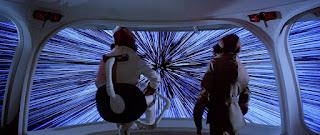 Salto al hiperespacio en Star Wars