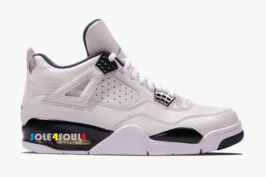 815372231ec82a Sole4Souls   Nike Air Jordan 4 Retro LS Legend Blue