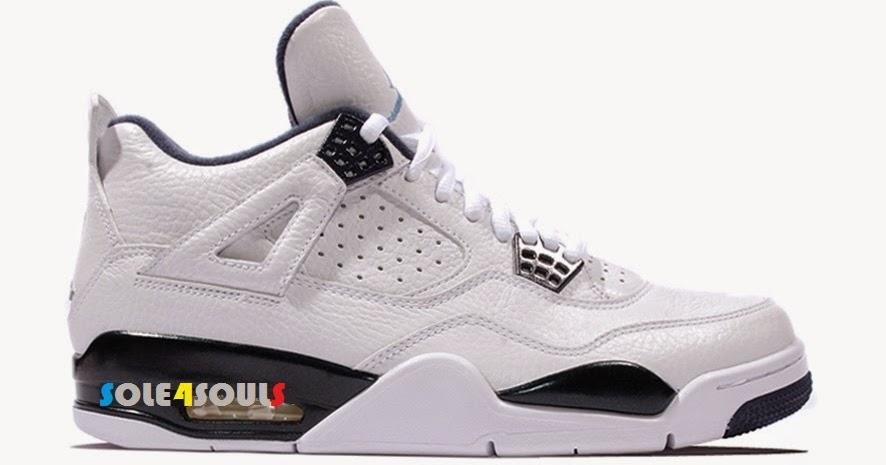 best loved a9897 76110 Sole4Souls : Nike Air Jordan 4 Retro LS Legend Blue