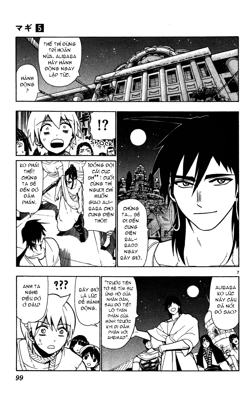 Magi The Labyrinth of magic chapter 43 trang 9