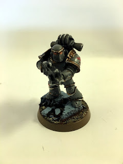 30k Burning of Prospero - Mark III Space Wolf Tactical Marine - front