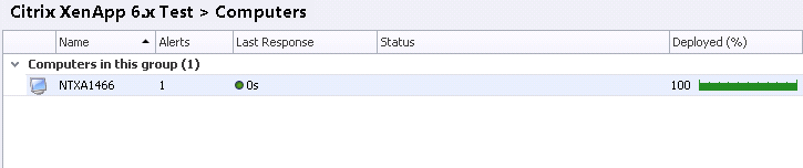 Installing AppSense DesktopNow configurations onto a persistent disk
