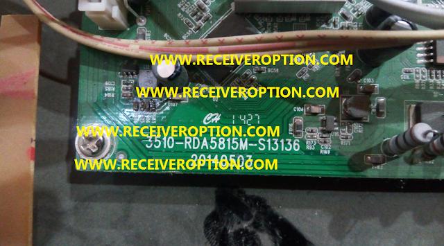 3510-RDA5815M-S13136 BOARD TYPE HD RECEIVER FLASH FILE