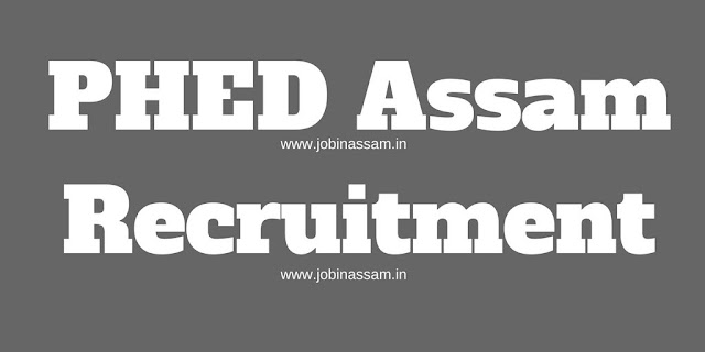 aphe.gov.in Assam PHED Recruitment 2017