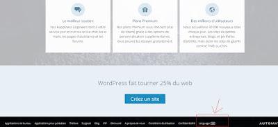 Chọn ngôn ngữ trong giao diện WordPress