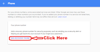 how to change mobile number in gmail id