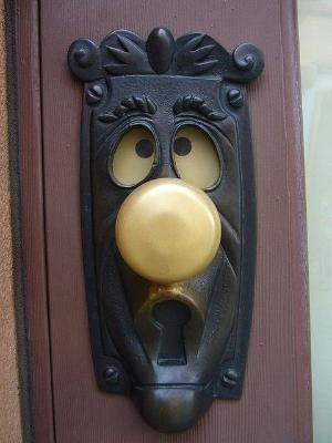 Attractive Unique Door Knob Design Ideas