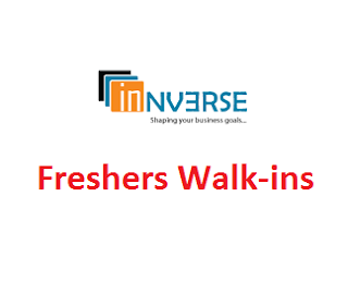 Innverse Technologies Walkin for fresher