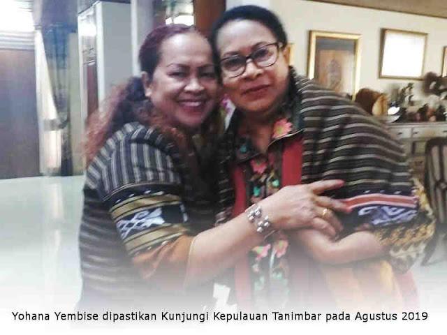 Yohana Yembise dipastikan Kunjungi Kepulauan Tanimbar pada Agustus 2019