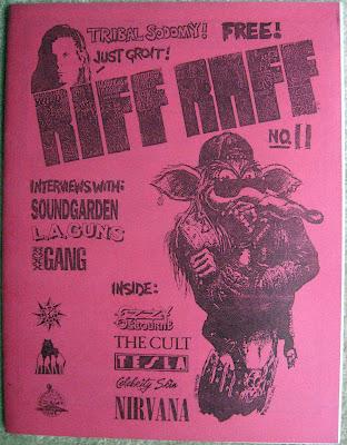 RIFF RAFF magazine front cover