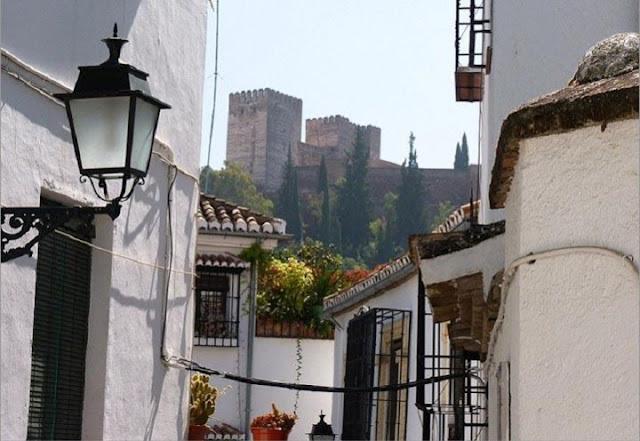 Albaicín em Granada