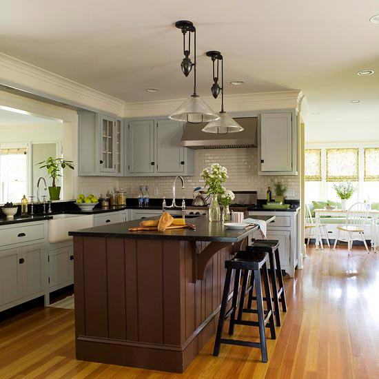 Find The Perfect Kitchen Color Scheme: Home Interior Design: Find The Perfect Kitchen Color Scheme