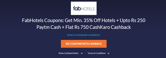 FabHotels official website