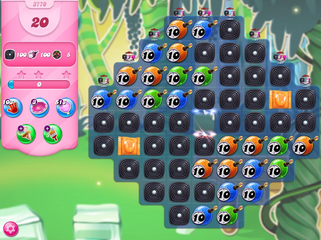 Candy Crush Saga level 3770