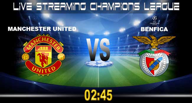 lvie streaming manchester united vs benfica 1 november 2017