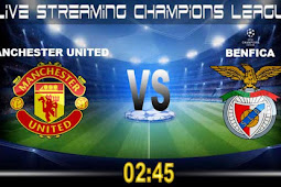 Live Streaming Manchester United vs Benfica 1 November 2017