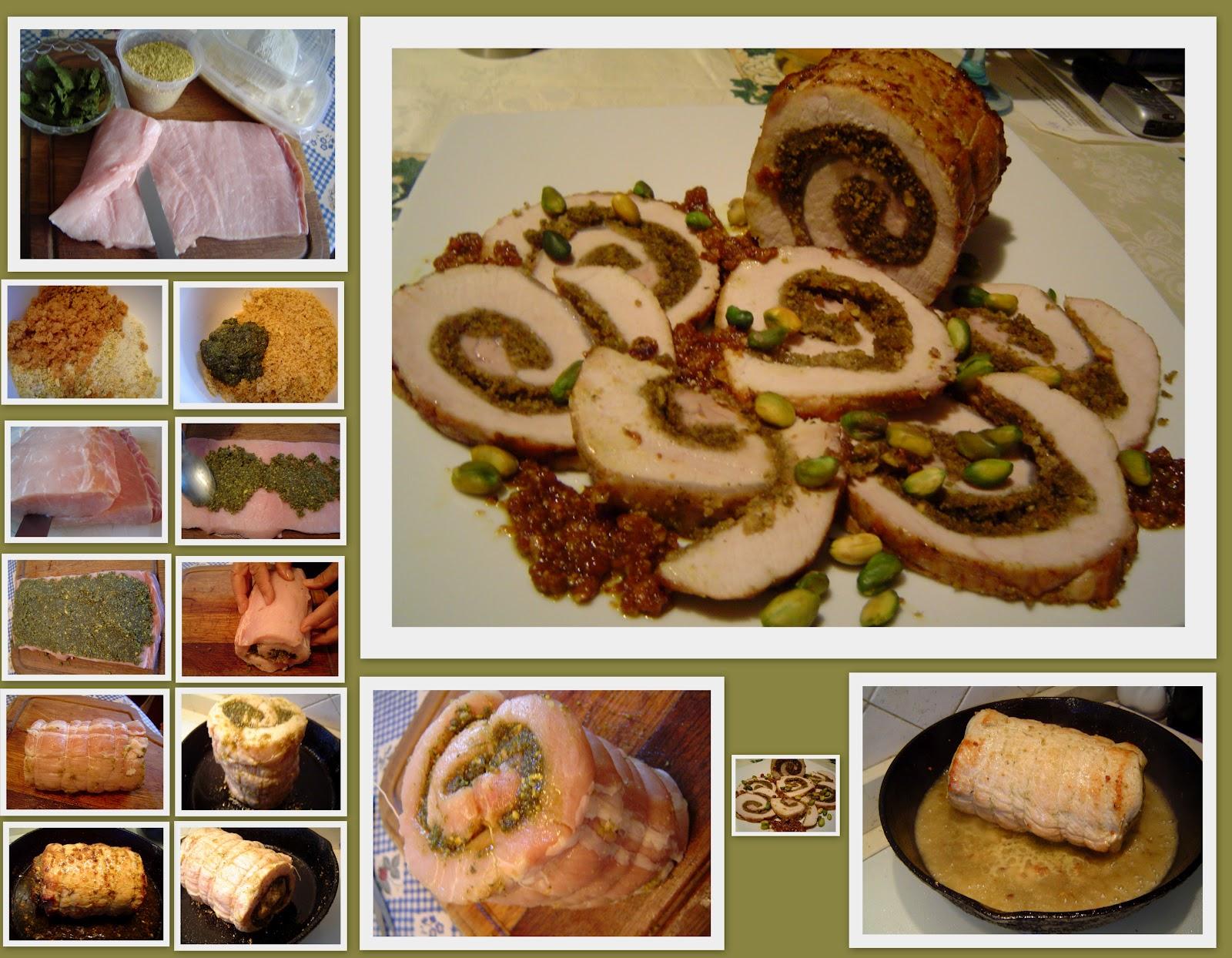 Cucinainmusica arrosto di maiale al pistacchio for Arrosto maiale