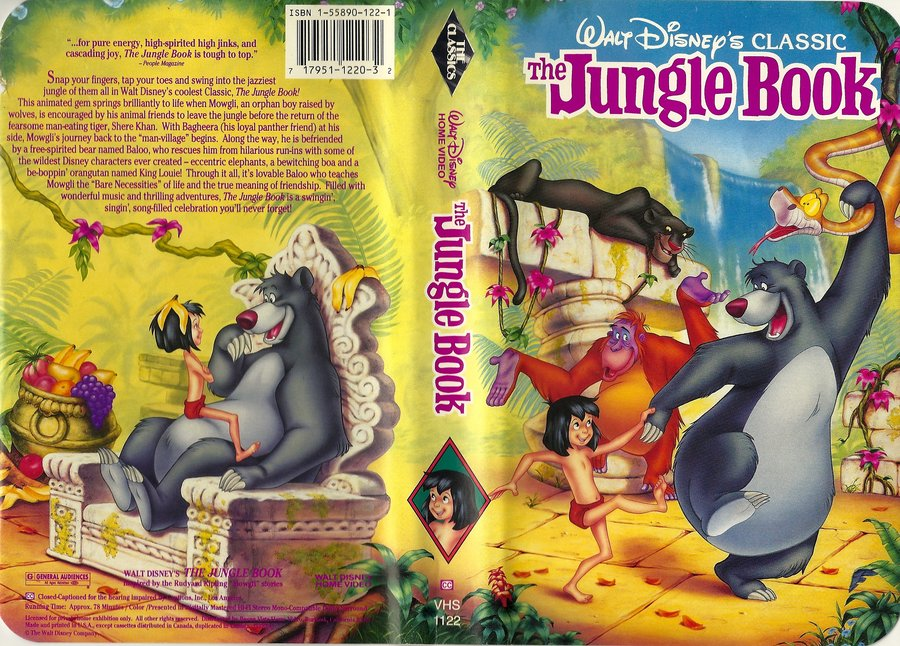an analysis of the jungle book a classic movie by walt disney Since it was first filmed in 1937, the jungle book has been a rich vein for studios   worldwide, although not always as successfully as the 1967 disney classic   widely considered the definitive animated version, this 1967 movie  walt  disney saw kipling's themes as too dark and the resulting upbeat tale.