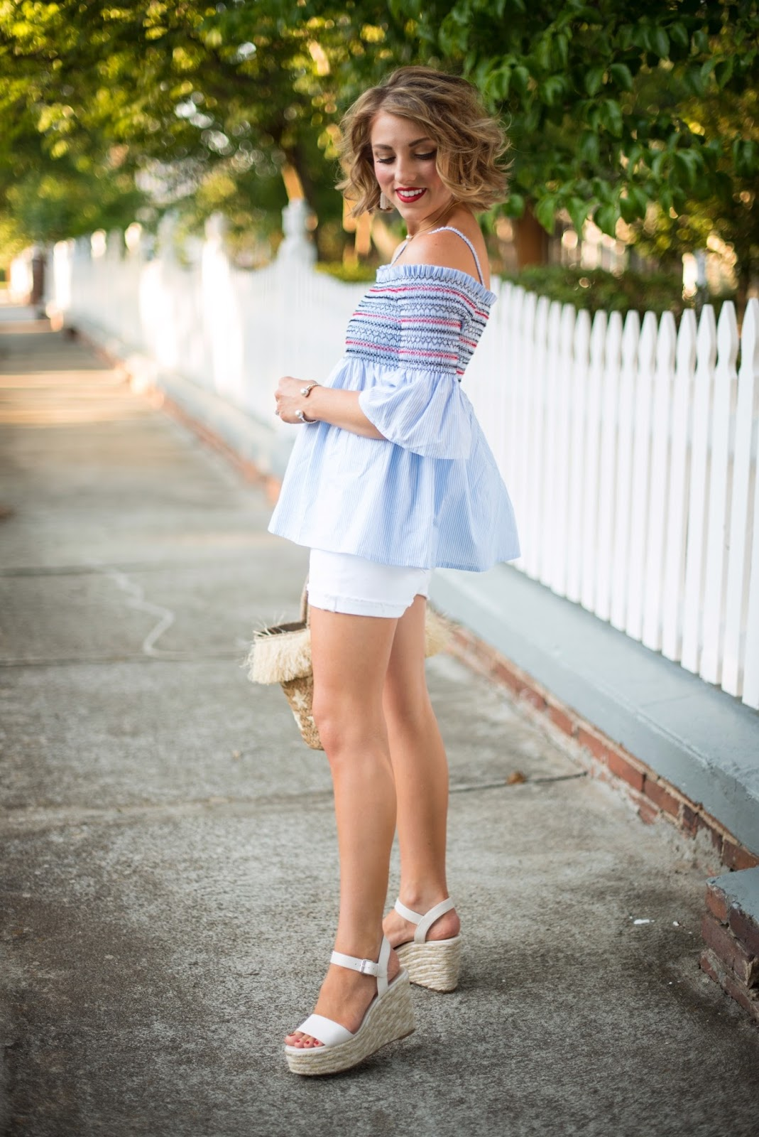 July 4th Outfit Inspiration - Click through to see more on Something Delightful Blog.