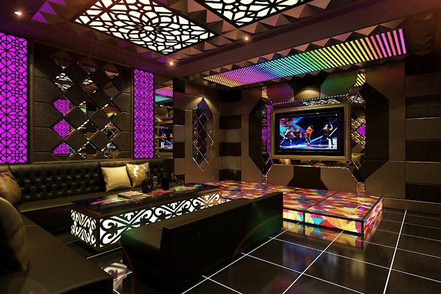 Thiết kế karaoke hiện đại