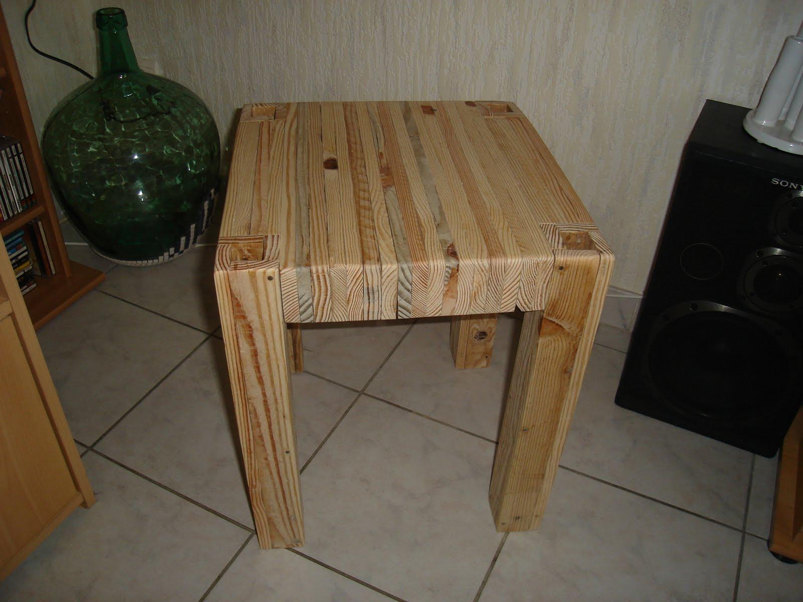 2nde vie la palette. Black Bedroom Furniture Sets. Home Design Ideas