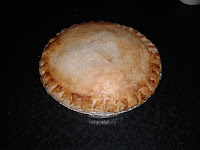 Apple & Raspberry Brampton Pie