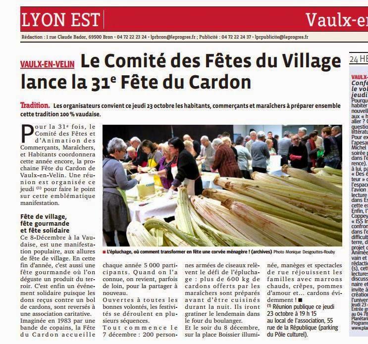 Espace Caf Lyon Novembre