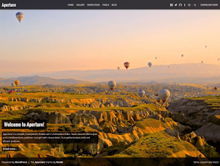 Aperture Free Photography WordPress Theme
