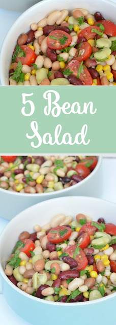 Five Minute 5 Bean Salad